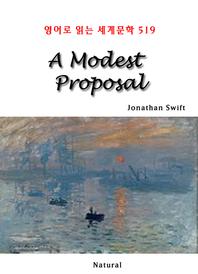 A Modest Proposal (영어로 읽는 세계문학 519)
